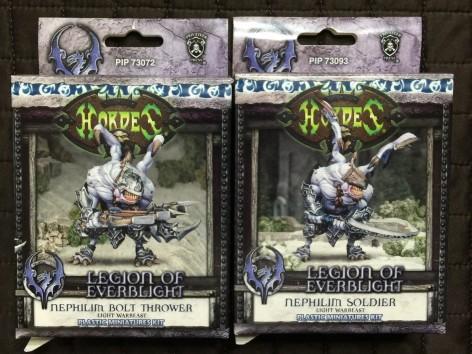 001 Hordes Legion Nephilim Unboxing