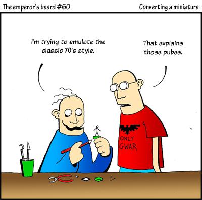 60 converting a miniature