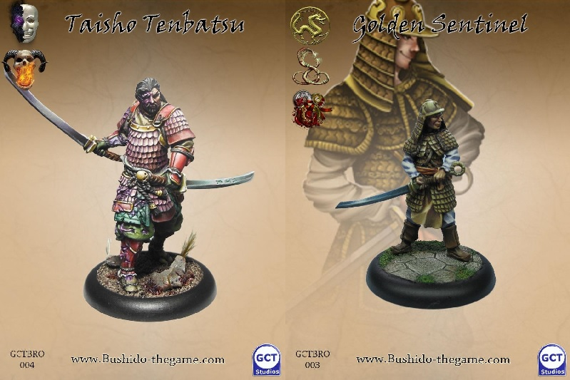 Bushido Taisho and Golden Sentinel