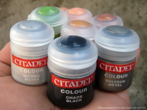 Citadel paints 1