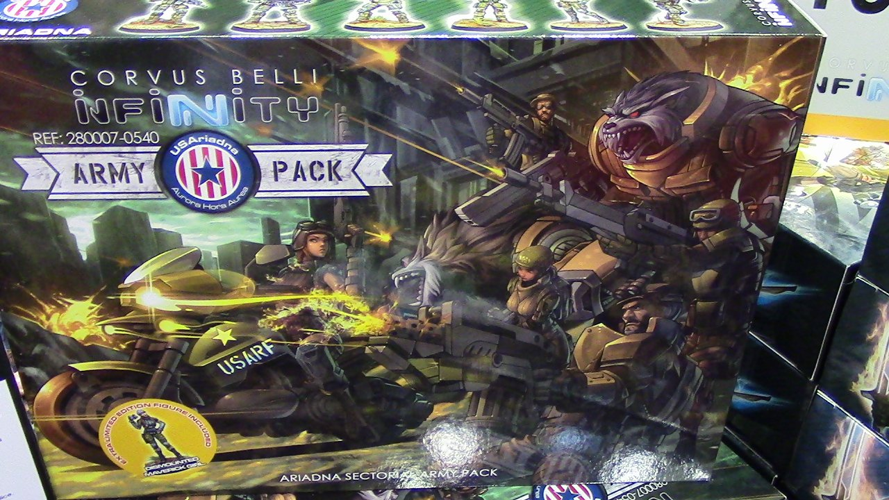 Infinity USAriadna Army Pack Live