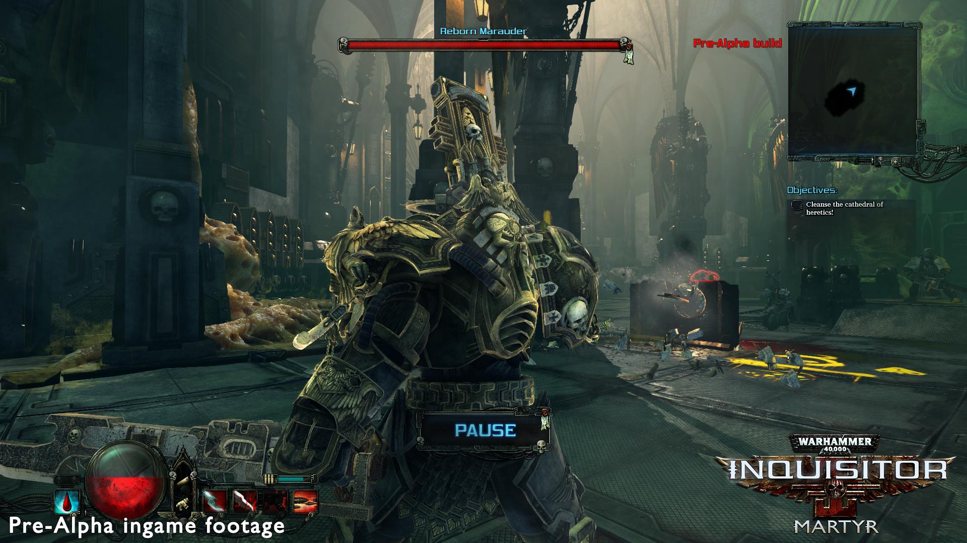 Warhammer 40k [Inquisitor: Martyr] Innocentia Nihil Probat