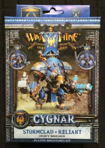 Warmachine Cygnar Reliant Unboxing 001