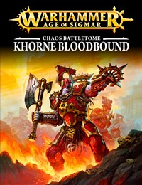 AoS Khorne Bloodbound EPUB Tablet Cover