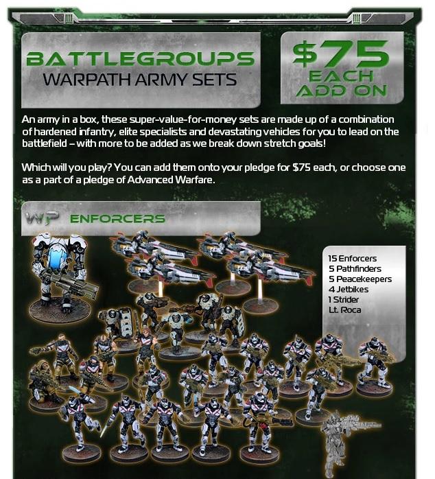 Mantic Battlegroup Warpath