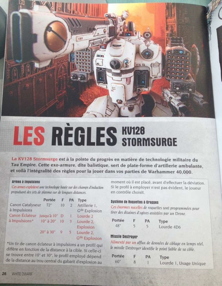 WD 88 french rules
