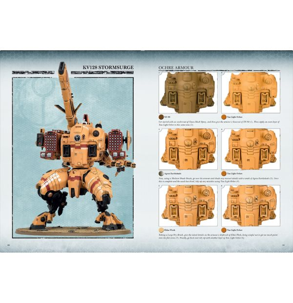 Tau empire painting guide armies of expansion warhammer 40k.