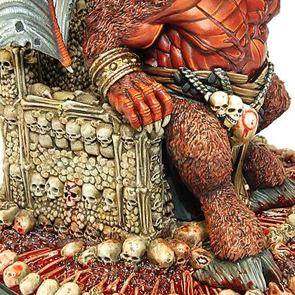 Orcus skullthrone