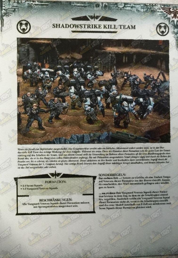Shadowstrike Kill Team