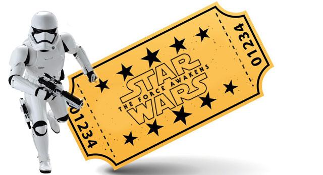 star wars ticket trooper