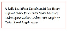 ForgeWorld Leviathan Dread 40K approved