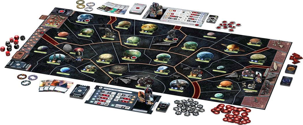 Star Wars Rebellion Layout