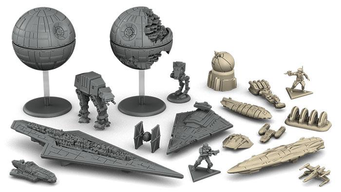 Star Wars Rebellion Plastics