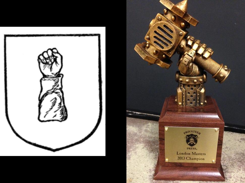 Warmachine Cubit and Cubit