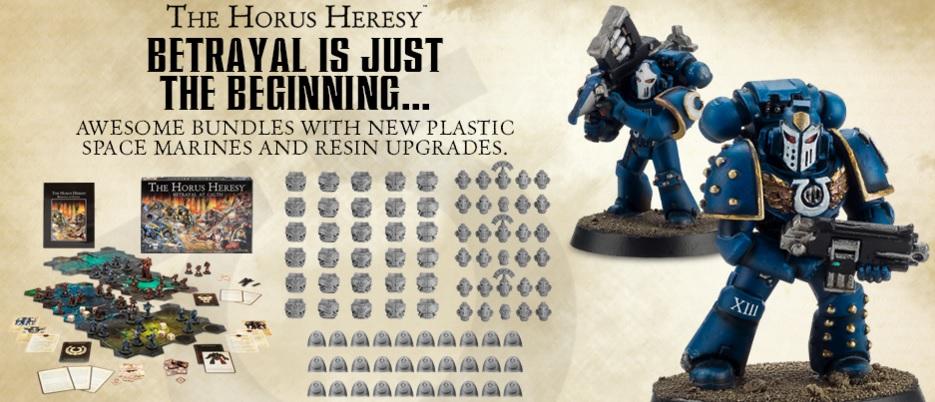 B bits 40K Forgeworld Horus Heresy salamandres torse Upgrade