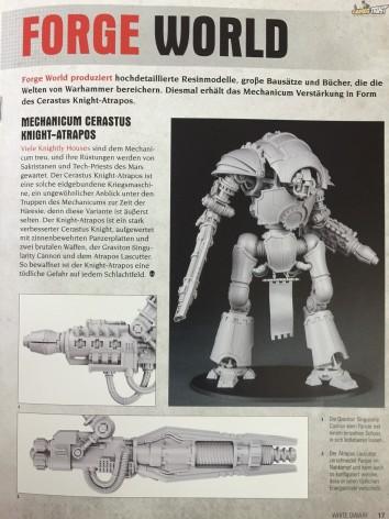 White Dwarf Forge World Knight 1