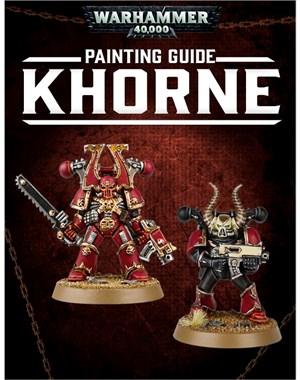 40K Painting Guide Khorne tablet