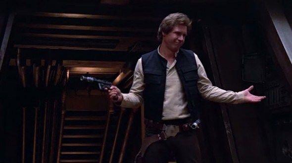 Han Solo Shrug