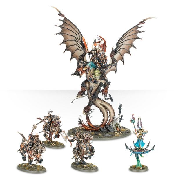New games workshop releases revealed spikey bits for Chaos overlords