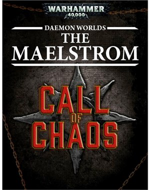 BLPROCESSED-40K Daemon worlds The Maelstrom Tablet Cover