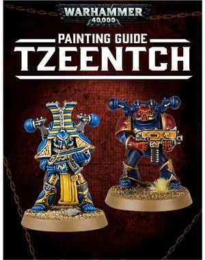 BLPROCESSED-40K Painting Guide Tzeentch tablet cover