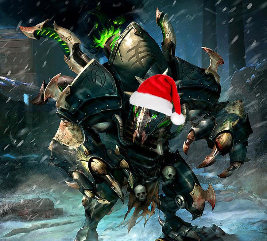 Cryx Holiday Warmachine Hordes