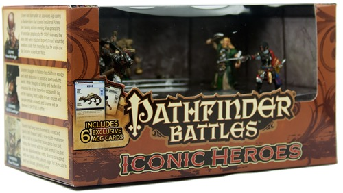 Paizo: Pathfinder Battles: Iconic Heroes Set 4 Teased