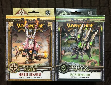 Warmachine Hand of Judgment Barathrum Unboxing 000