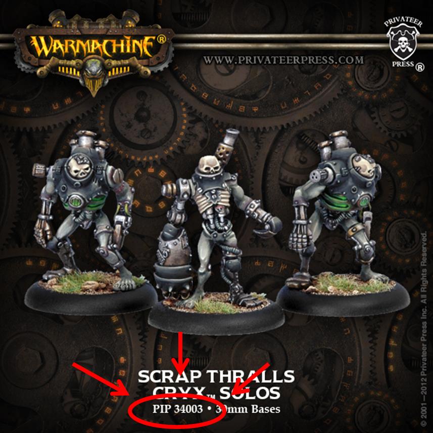 Warmachine Hordes Order PIP