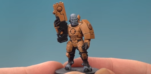 Come See The New Work How To Knock Painting Tau Skin Out Of Park Plus Ways Paint 40k Chaos Terrain For Advent Day 8