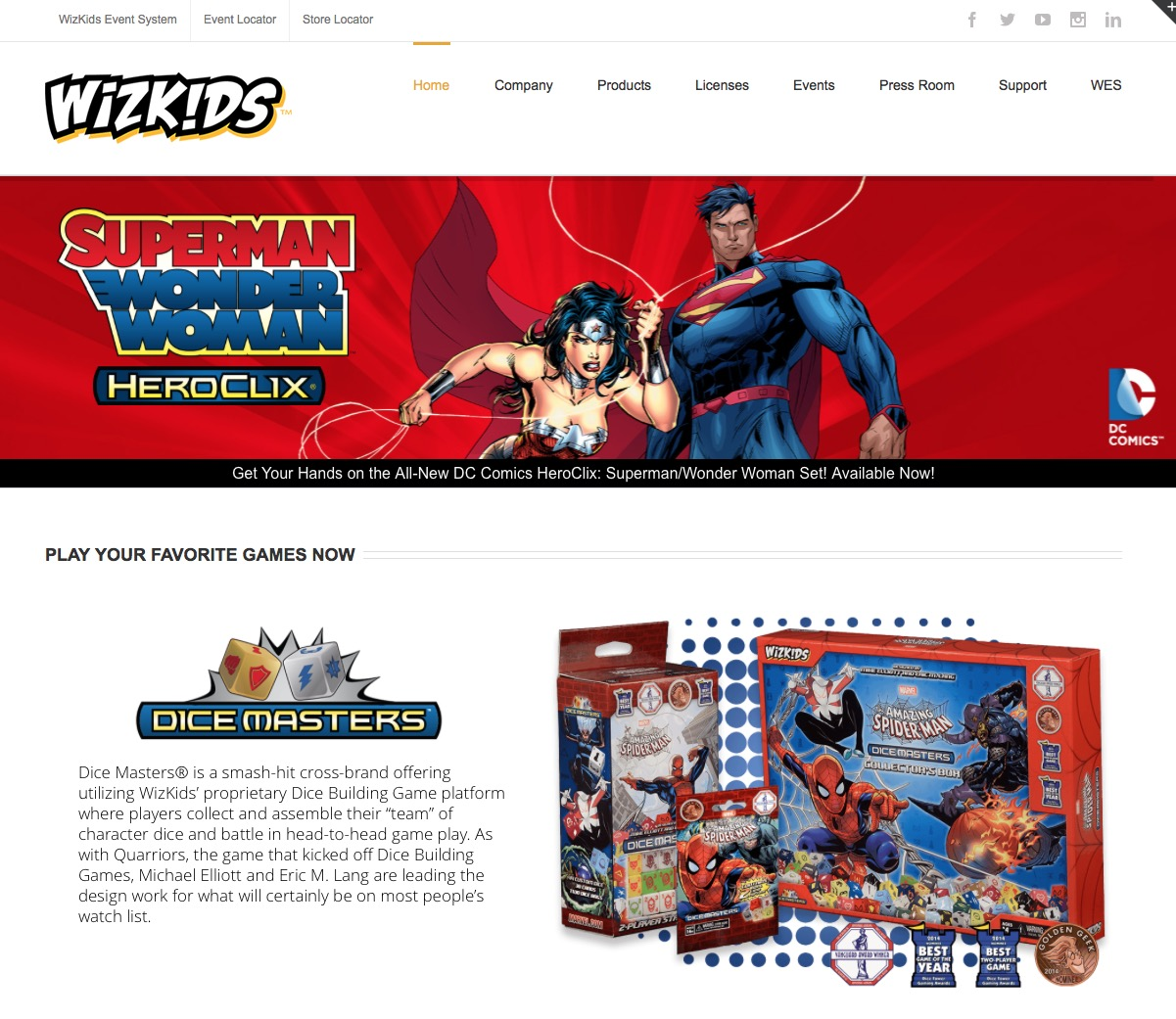 wizkids-website