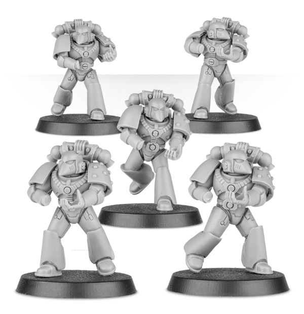 New Forge World - Space Marine Armor Marks - Spikey Bits
