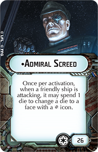 Admiral-screed