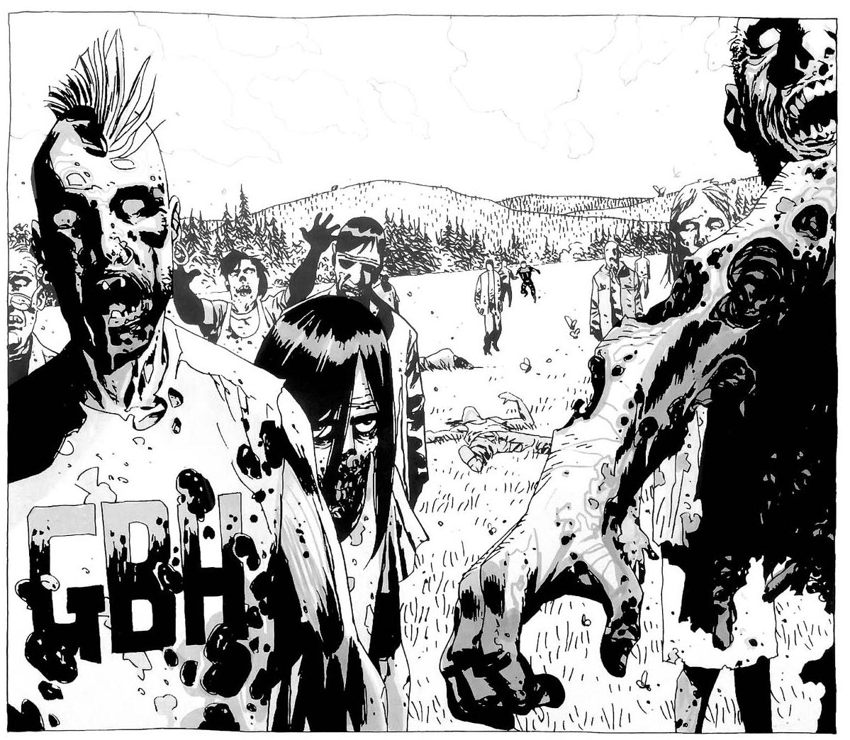 Mohawk Zombie