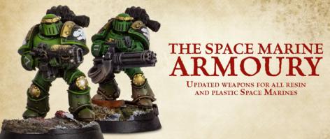 Space marine Armoury