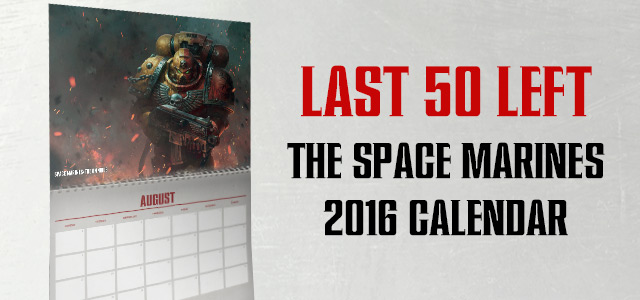 Space marine calendar