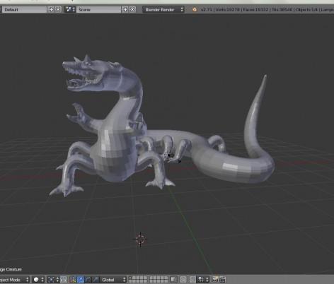shapeways dragon