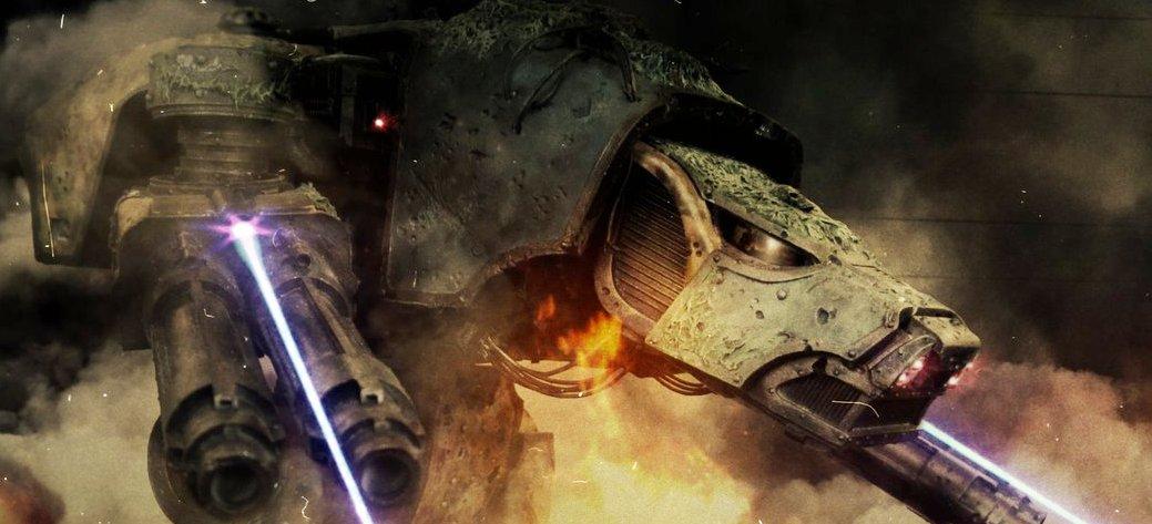 warhound laser titan
