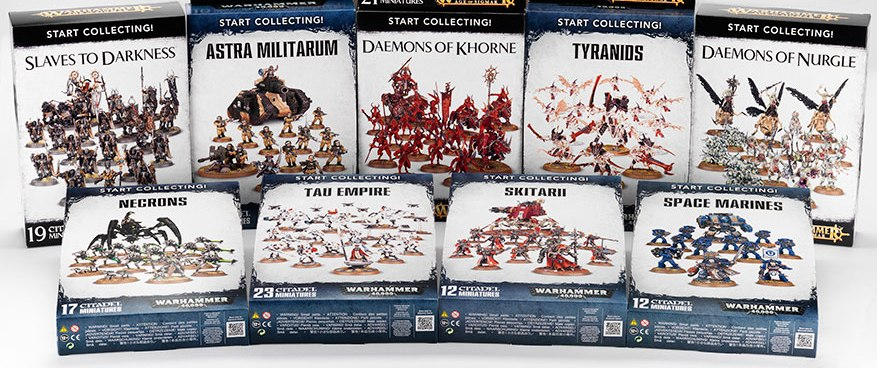 gw start collecting army deals 2016