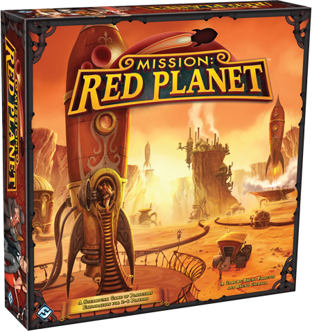 Mission Red Planet Box