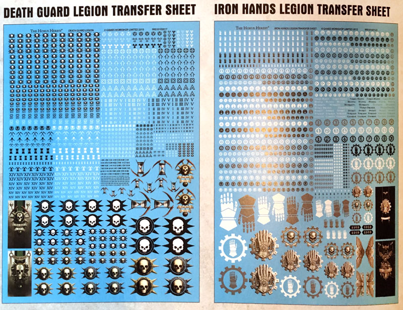 Forge World: New Transfer Sheets & Brass Accessories - Bell