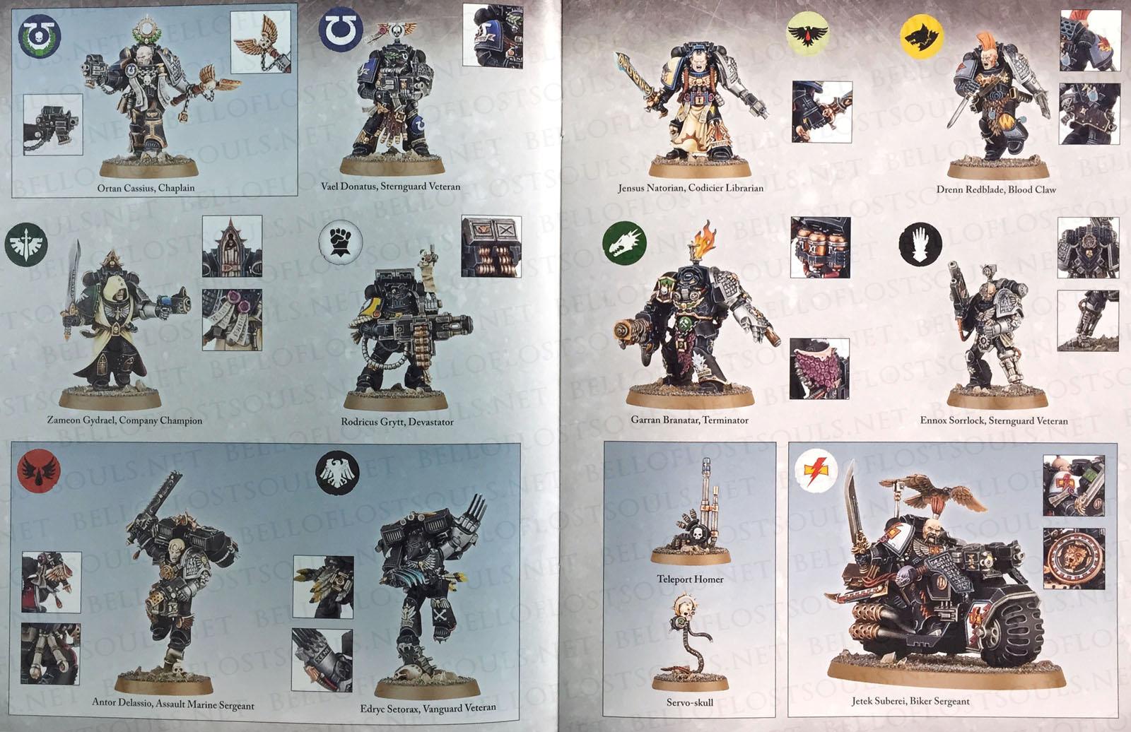 Drenn Redblade Warhammer 40k Kill Team Cassius Deathwatch Overkill