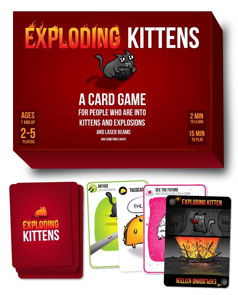 Exploding Kittens Box Spread