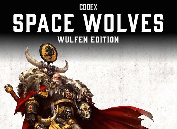 Space wolf Wulfen Codex cover