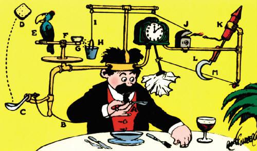 Warmachine Bell of Lost SOuls Corruptor Rube Goldberg