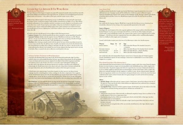 Ultramarines Army New Forge World - Horu...