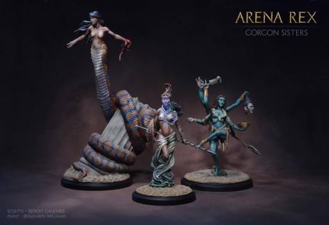 Arena Rex Gorgons Medusa Stheno Euryale