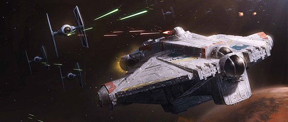 Ghost X-Wing
