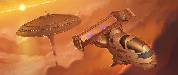 Mist Hunter X-Wing