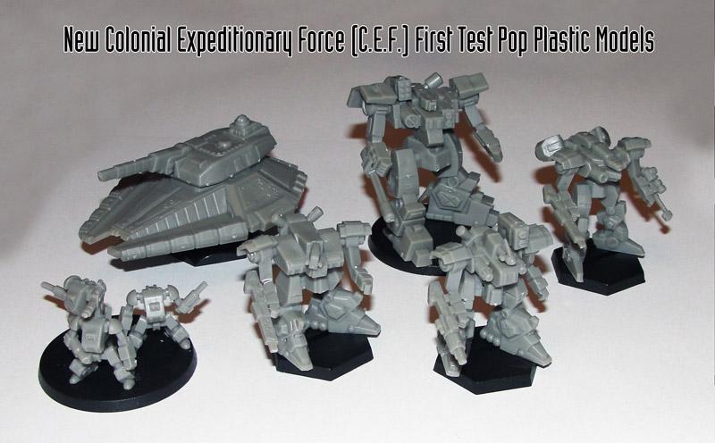 New CEF First Test Pop Plastic Models Flails MHT-95 F6-16 F2-21 F2-19 and F2-25 Web